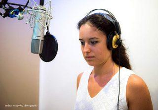 """Lorenza Cristanini Mion, voce narrante de """"Il piccolo Mago e la stadera"""""""